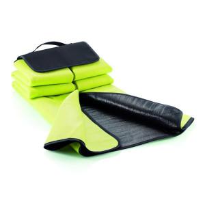 ACAMAR pikniková deka s uchom, svetlo zelená