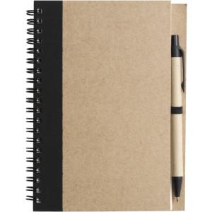 ADMINA poznačkyblok, guličkové pero, čierna