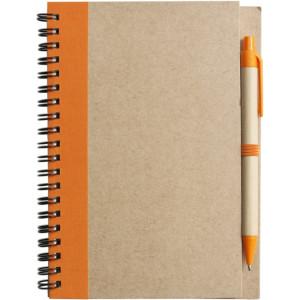 ADMINA poznačkyblok, guličkové pero, oranžová