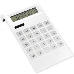 ARNOŠT stolová kalkulačka, biela