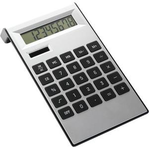 ARNOŠT stolová kalkulačka, strieb.