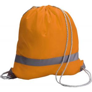BAGGY vak s reflexným pásikom a šnúrkou, oranžová