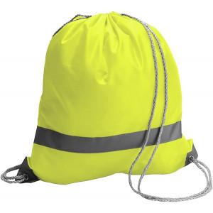 BAGGY vak s reflexným pásikom a šnúrkou, žltá