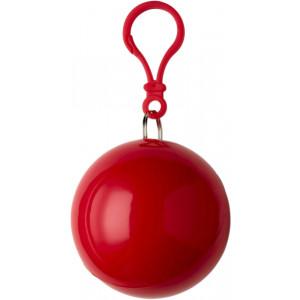 BALERÍNA pršiplášť v plastovom balóniku, červená