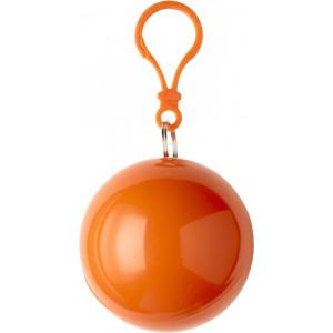 BALERÍNA pršiplášť v plastovom balóniku, oranž.