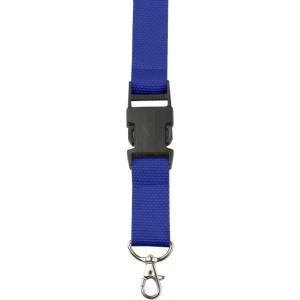 BAMBI šnúrka na krk s poistkou, modrá