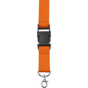 BAMBI šnúrka na krk s poistkou, oranžová