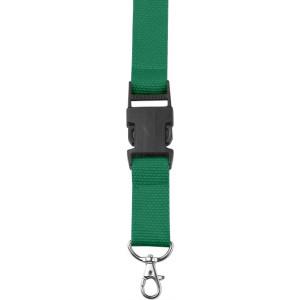 BAMBI šnúrka na krk s poistkou, zelená