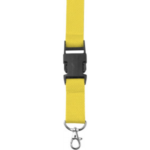BAMBI šnúrka na krk s poistkou, žltá