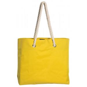 BEACH plážová taška, žltá