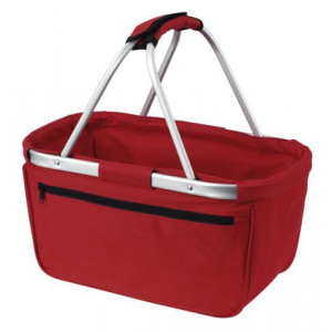 BERNARD nákupný košík, červená