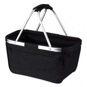 BERNARD nákupný košík, čierna