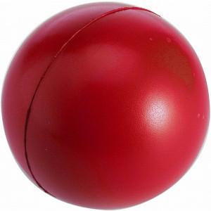 BUBIK antistresová loptička, PU penový materiál, červená