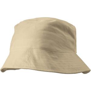 CAPRIO bavlnený klobúk, béžová