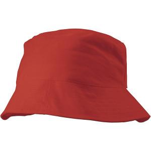CAPRIO bavlnený klobúk, červená