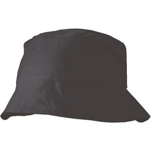 CAPRIO bavlnený klobúk, čierna
