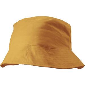 CAPRIO bavlnený klobúk, oranžová