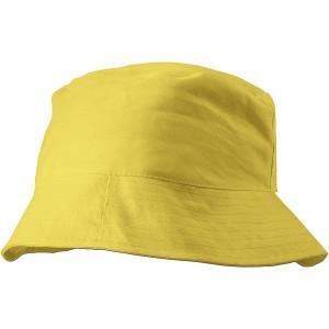 CAPRIO bavlnený klobúk, žltá