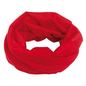 CEMILE multifunkčná šatka, červená