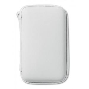 CINAMON cestovná sada powerbanka, autonabíjačka a USB kábel, biela