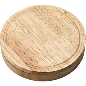 CLODER sada na servírovanie syra, kov/drevo