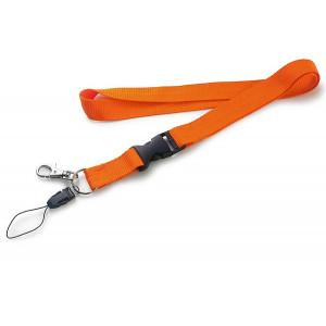 CORDONE šnúrka na krk, oranžová