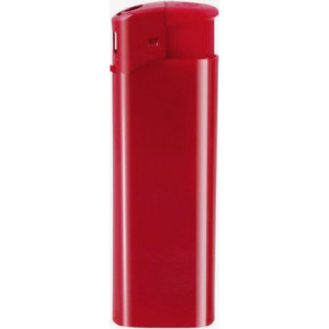 DALE plastový piezoelektrický zapaľovač, červená