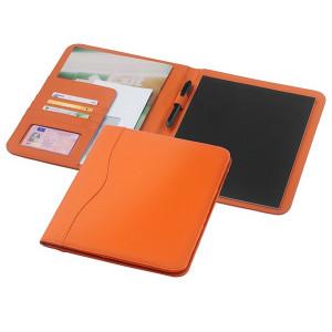 EBONY zložka na dokumenty A4 s blokom, oranžová
