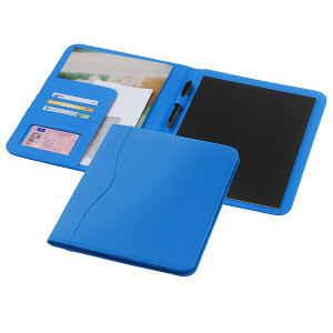EBONY zložka na dokumenty A4 s blokom, svetlo modrá