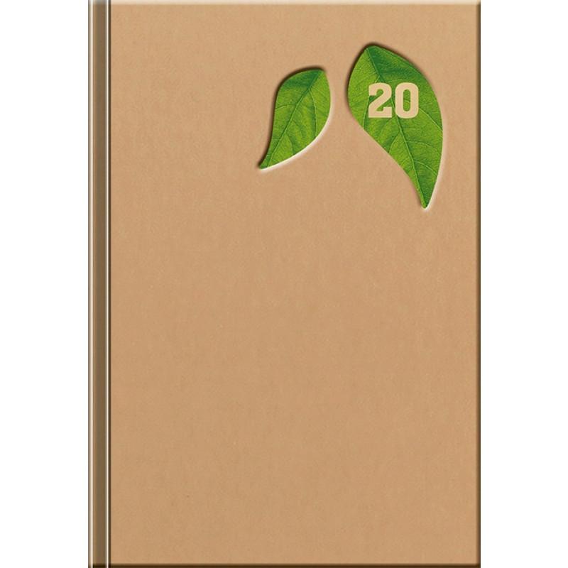 ECO - DENNÝ diár, 14,2 x 20,4 cm, 2020