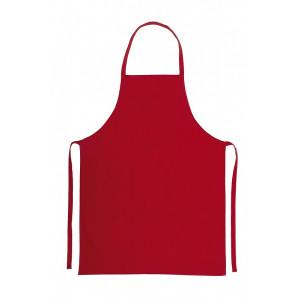 FARPY bavlnená zástera, červená