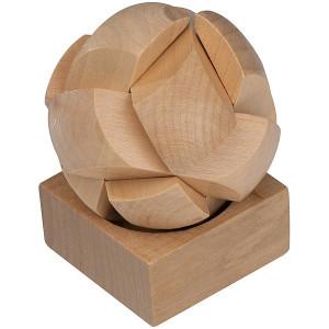 FONTES drevený hlavolam guľa