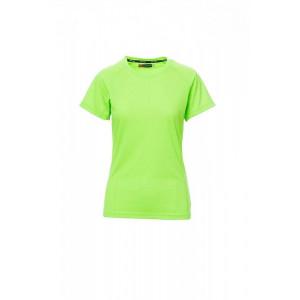 Funkčné tričko PAYPER RUNNER LADY reflexná zelená, XL