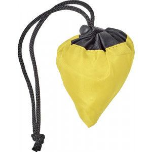 GANDA skladacia nákupná taška, žltá