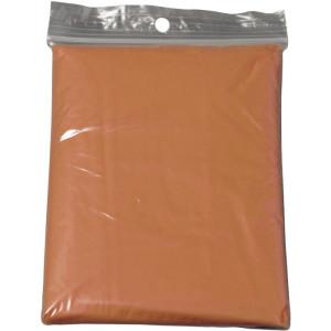 HALKA transp.skladacia pláštenka, oranžová