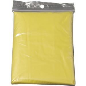 HALKA transp.skladacia pláštenka, žltá