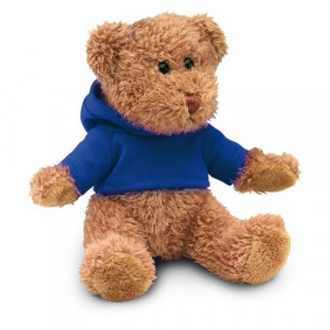 HONZIK medvedík v tričku s kapucňou, modrá