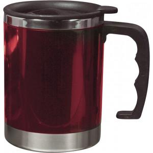 KANTON termohrnček, 400 ml, červená
