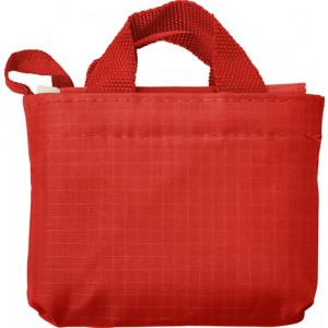 KAWANA skladacia nákupná taška, červená