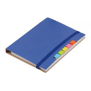 KORDON zápisník s guličkové perom (čierna n.), modrá