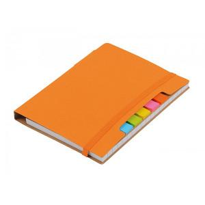 KORDON zápisník s guličkové perom (čierna n.), oranžová