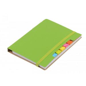 KORDON zápisník s guličkové perom (čierna n.), zelená