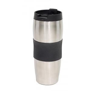 LAIT nerezový termohrnček, 380 ml, čierna
