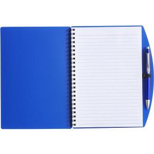 LIBERO A5 poznačkyblok A5, guličkové pero, modrá