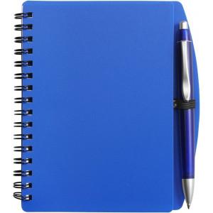 LIBERO A6 poznačkyblok A6, guličkové pero, modrá