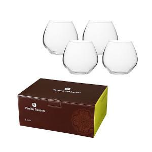 LIWA poháre značkyBohemia Crystal v krabici Vanilla Season