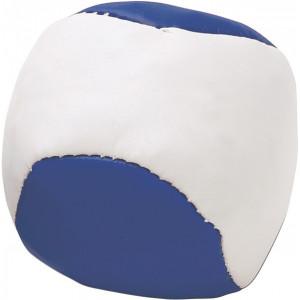 LOPTIČKA antistresová loptička, biela/modrá