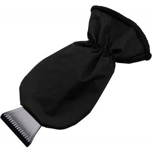 MANOPOLA plastová autoškrabka, rukavica, čierna
