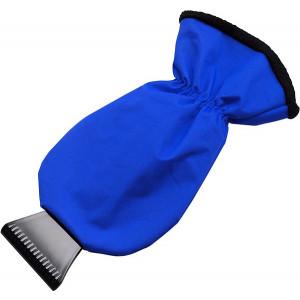 MANOPOLA plastová autoškrabka, rukavica, modrá
