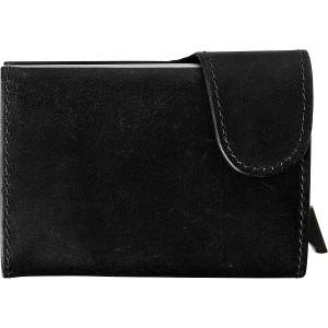 MARASA Kožená peňaženka s ochranným systémom, čierna